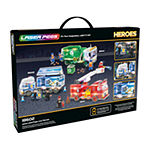 Laser Pegs Heroes Mobile Police Unit 300 Piece Construction Block Set