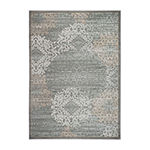 Pisa Modern Geometric Contemporary Accent, Area, Round and Runner Rugs