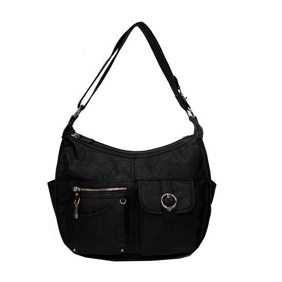 Rosetti Riveting Seams Shoulder Bag