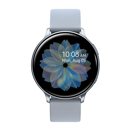 Samsung Galaxy Active 2 40mm Unisex Adult Multi-Function Silver Tone Smart Watch-Sm-R830nzsaxar