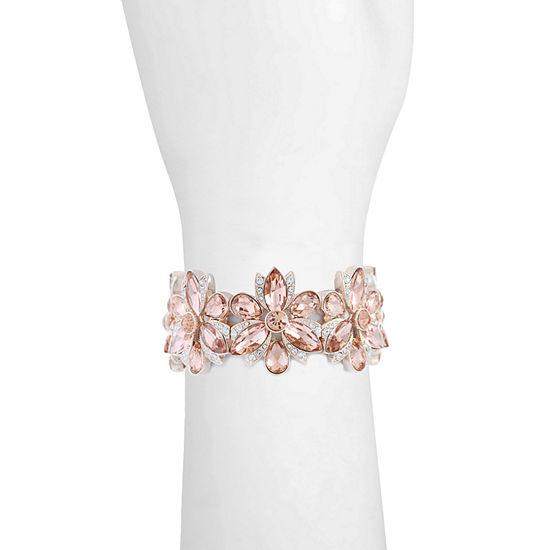 Monet Jewelry Orange Stretch Bracelet