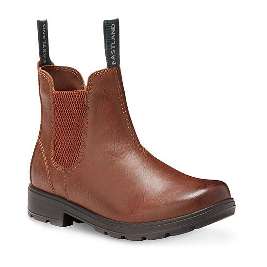 Eastland Womens Baja Chelsea Block Heel Boots