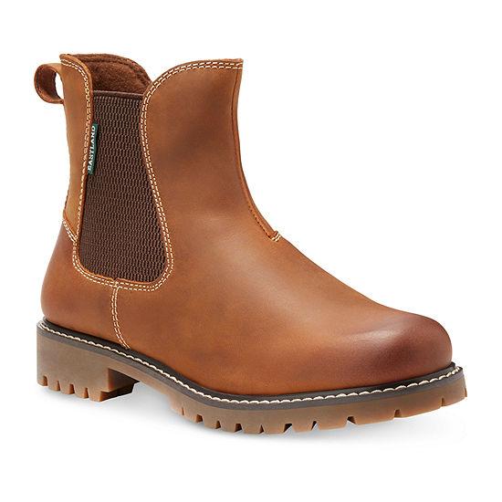 Eastland Womens Ida Chelsea Block Heel Boots