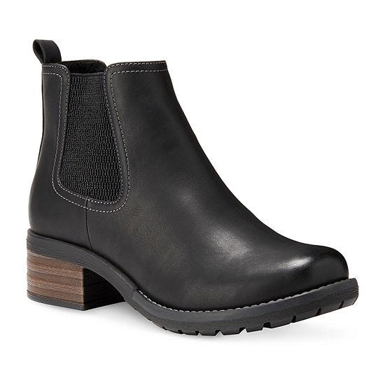Eastland Womens Jasmine Chelsea Pull-on Boots