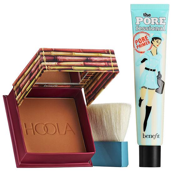Benefit Cosmetics Supersized Superstars Jumbo Primer & Bronzer Set