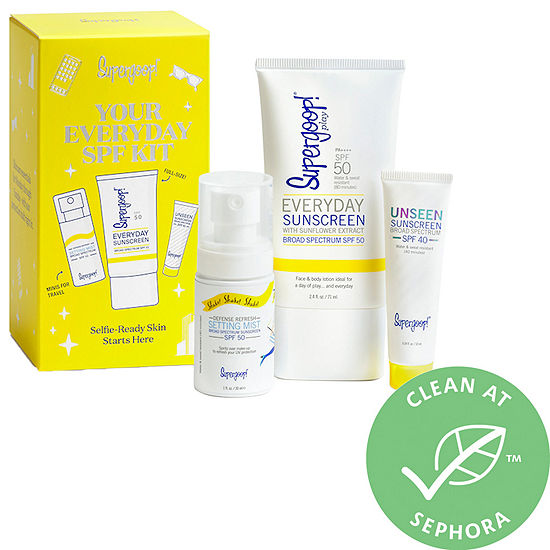 Supergoop! Your Everyday SPF Kit ($42.00 value)