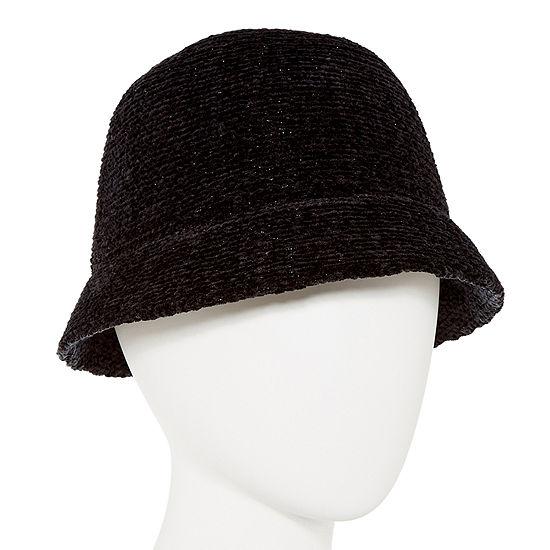 August Hat Co. Inc. Chenille Shine Cloche Hat