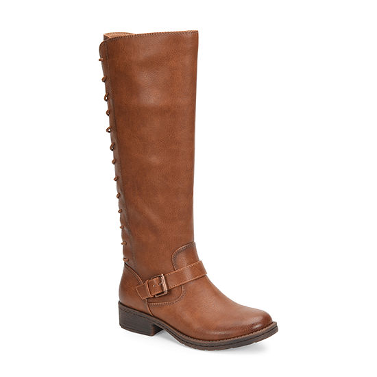 Eurosoft Womens Selden Riding Boots Stacked Heel