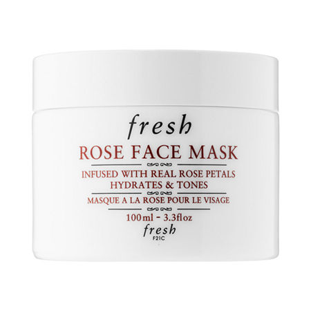 What it is: An instant hydrating mask with real rose petals suspended in a silky gel that gently soothes and tones with a plumping effect.Skin Type: Normal, Dry, Combination, and OilySkincare Concerns: Dryness and Dullness/Uneven TextureFormulation: Lightweight MaskHighlighted Ingredients:- Pure Rosewater: Soothes and tones.- Cucumber Extract and Aloe Vera Gel: Help soothe the skin and have an immediate cooling and calming effect.- Porphyridium Cruentum: A \\\