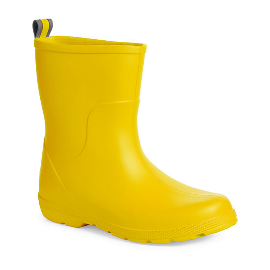 Totes Girls Cirrus Boots Rain Boots Waterproof Slip Resistant Flat Heel