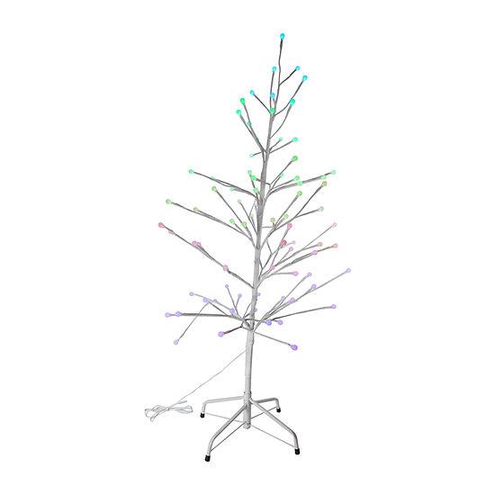 Kurt Adler Kurt Adler 3.5-Foot 80-Light Gumball Rgb Led Tree 3 1/2 Foot Christmas Tree
