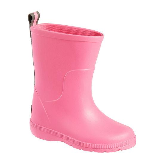 Totes Toddler Girls Cirrus Waterproof Slip Resistant Flat Heel Rain Boots