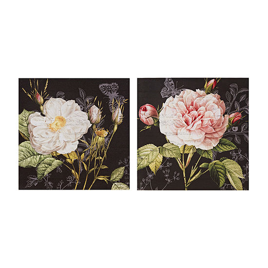 Madison Park Restoration Rose 2-pc. Canvas Art