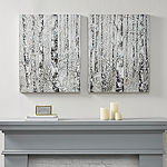 Madison Park Winter Forest 2-pc. Canvas Art