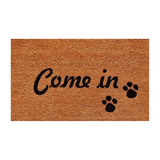 Come In Rectangular Outdoor Doormat