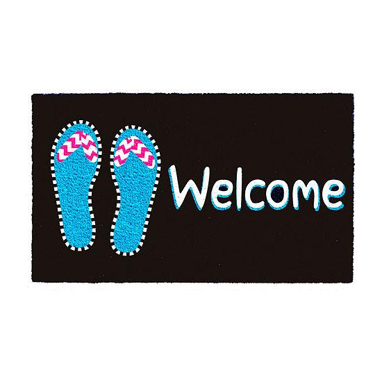 Calloway Mills Summer Caz Rectangular Outdoor Doormat