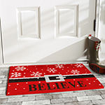Calloway Mills Believe Rectangular Outdoor Doormat