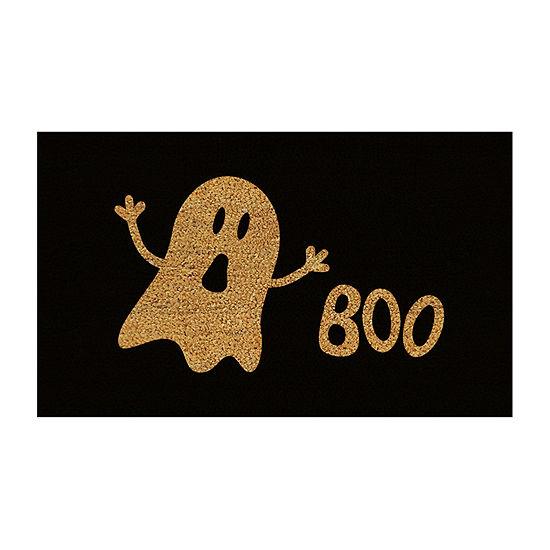 Boo Rectangular Outdoor Doormat