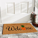 Pineapple Fun Rectangular Outdoor Doormat