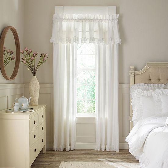 Queen Street Emelia Room Darkening Rod-Pocket Set of 2 Curtain Panels