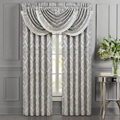 Queen Street Elaine Room Darkening Rod-Pocket Set of 2 Curtain Panels