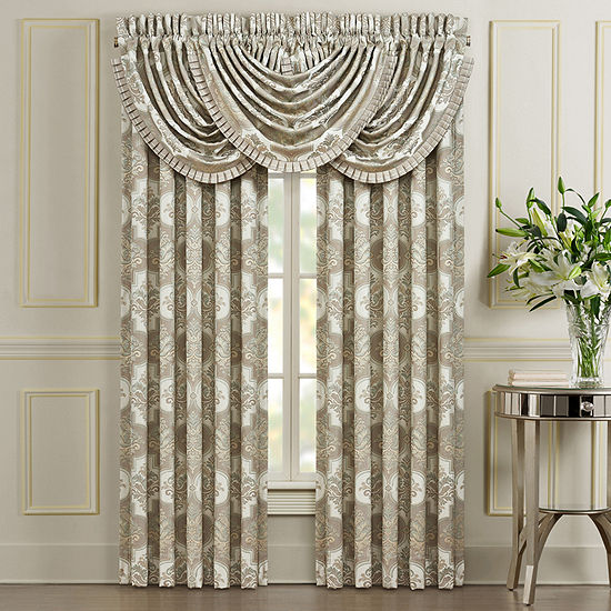 Queen Street Clermont Room Darkening Rod-Pocket Set of 2 Door Panel Curtain