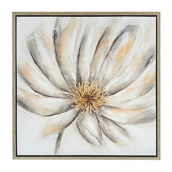 Madison Park Signature Enchanted Floral Canvas Art