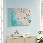 Urban Habitat Aerial Beach Canvas Art
