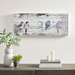 Madison Park Perched Birds Wall Sign
