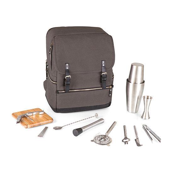 Picnic Time Bar-Backpack Portable Cocktail Set