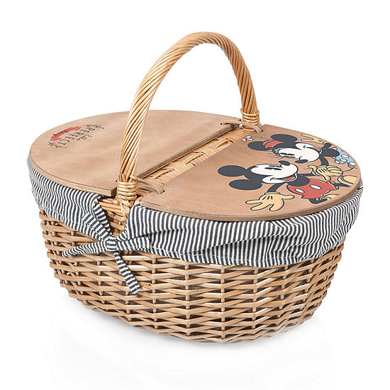 Picnic Time Country Picnic Basket - Mickey and Minnie