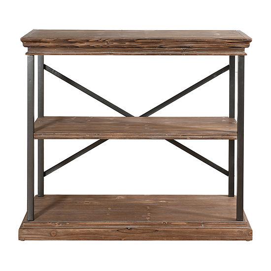 Wood 3-Tier Bookshelf