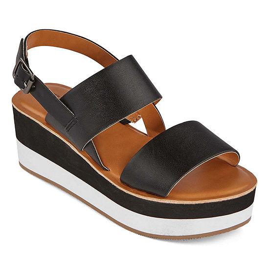 a.n.a Womens Nassau Strap Sandals