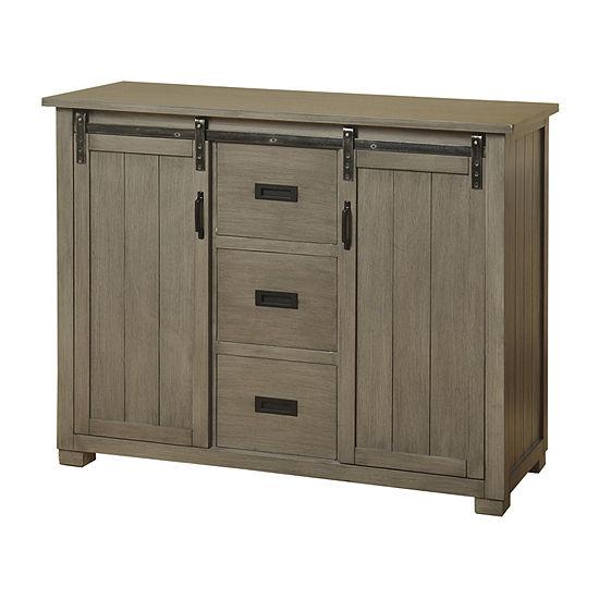 Stylecraft 17 Gray Cabinet Accent Cabinet