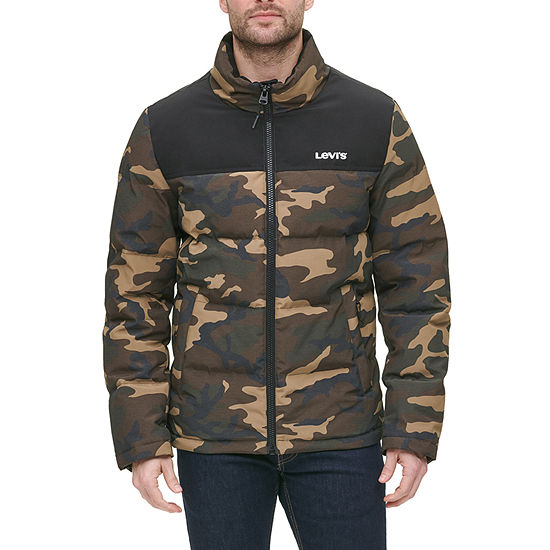 Levi's Mens Wind Resistant Heavyweight Puffer Jacket