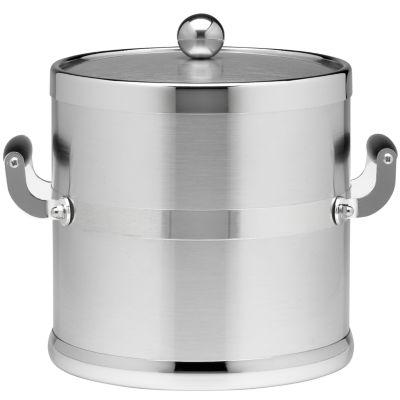 3-qt. Brushed Chrome Ice Bucket
