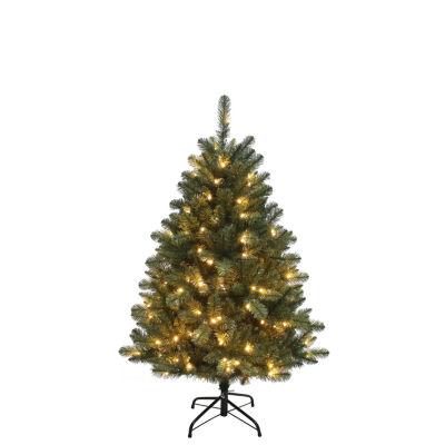 Kurt Adler 4.5 ft. Pre-Lit LED Northwood Pine Christmas Tree