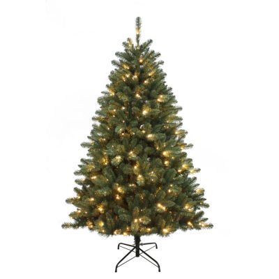 Kurt Adler 6 ft. Pre-Lit LED Northwood Pine Christmas Tree