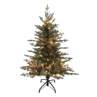Kurt Adler 4 ft. Pre-Lit Pea Pine Christmas Tree