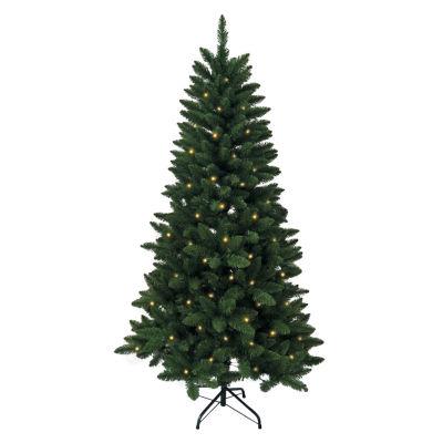 Kurt Adler 6 Ft. Pre-Lit Green Pine Tree