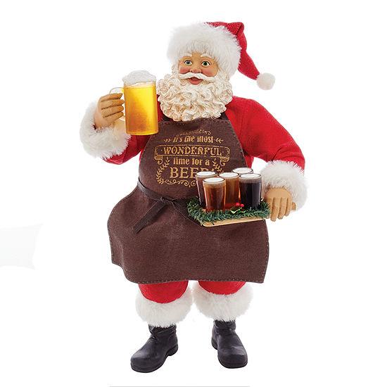"Kurt Adler 11"" Fabriché™ Beer Santa"