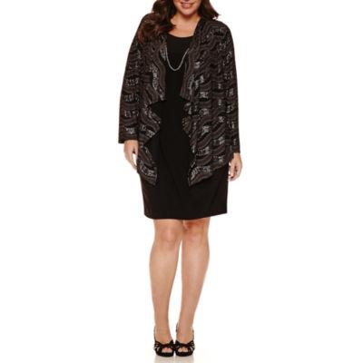 R & K Originals Jacket Dress-Plus