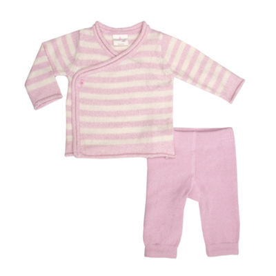 Cuddl Duds 2-pc. Pant Set - Baby Girls