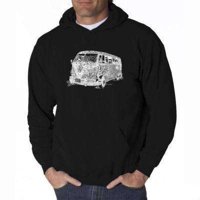 Los Angeles Pop Art Long Sleeve Hoodie