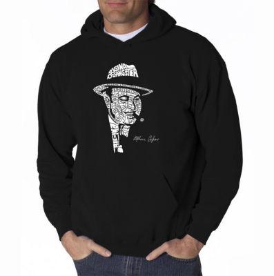 Los Angeles Pop Art Al Capone-Original Gangster Long Sleeve Word Art Hoodie