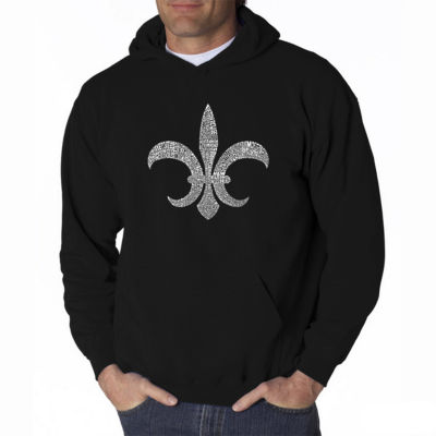 Los Angeles Pop Art Popular Louisiana Cities LongSleeve Word Art Hoodie