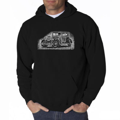 Los Angeles Pop Art Legendary Mobsters Long SleeveWord Art Hoodie