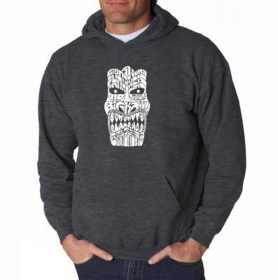 Los Angeles Pop Art Big Kahuna Long Sleeve Word Art Hoodie