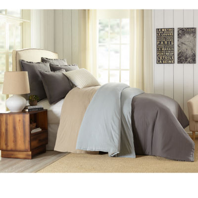 Studio™ Caden Linen Blend 3-pc. Comforter Set & Accessories
