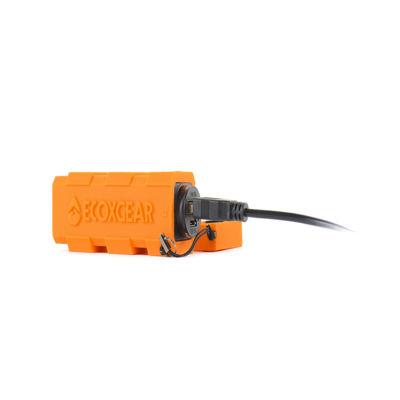 Grace Digital EXCH EcoCharge Waterproof 2600 mAh Powerbank - External Battery Pack for Smartphones